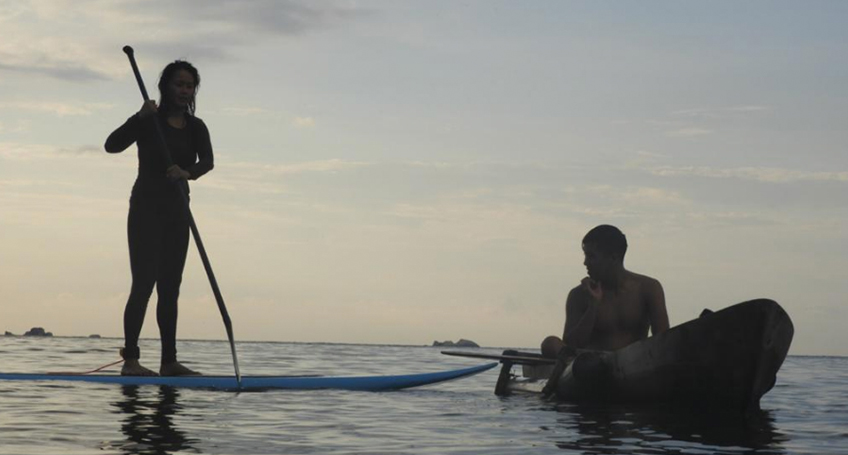 KAYAKING & PADDLE <br> SURFING